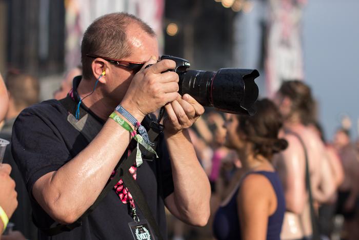 fotózás közben
